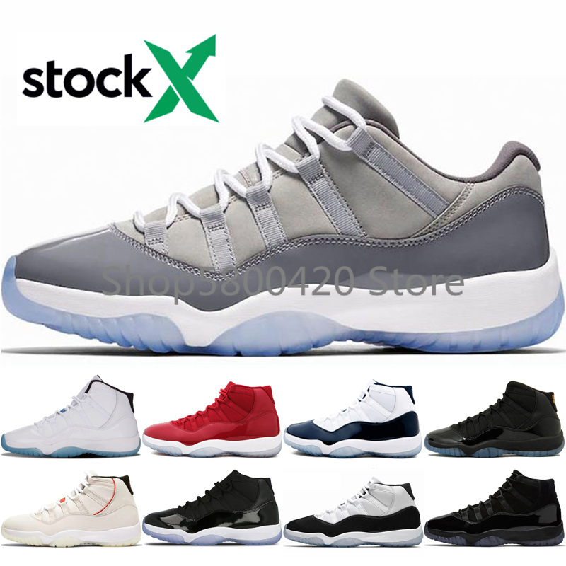 Basketball shoes Retro 11 11s Cool Grey