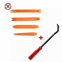 Car Fastener Removal Tool Plastic Trim Dash Removal Rivet Clips Car Door Panel Installer Cover Pry Repair Fastener Tool