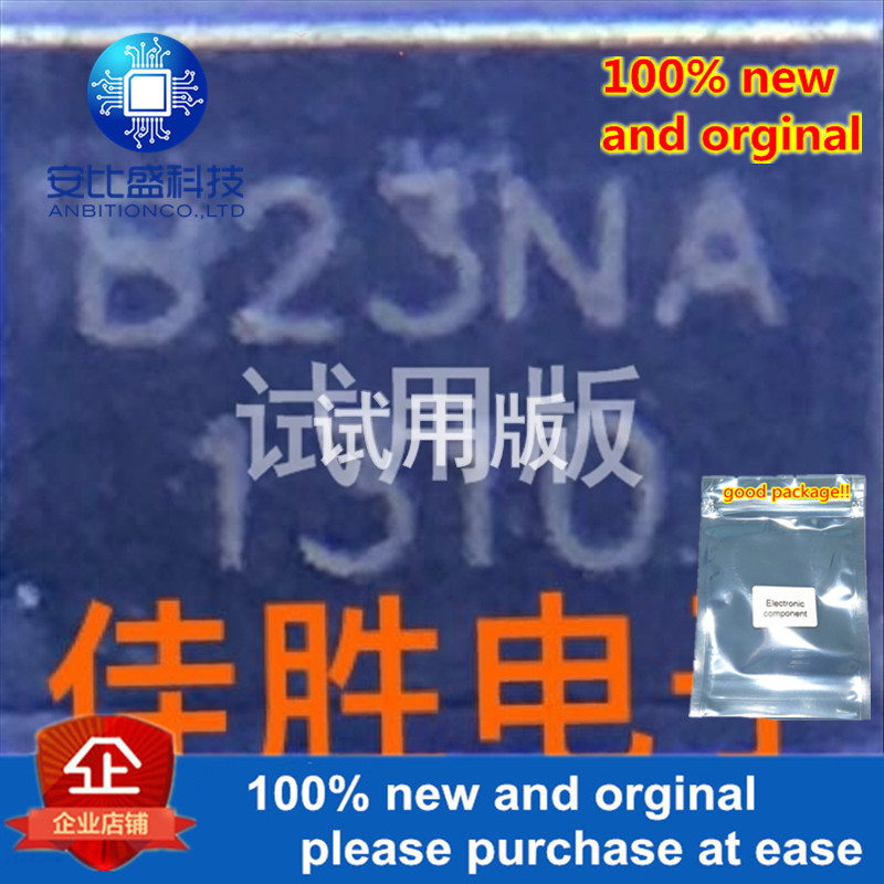 20pcs 100% New And Orginal B2300N-A 230V DO214AA Silk-screen B23NA Lightning Protection Tube In Stock
