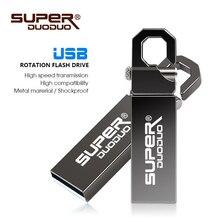 Usb 2.0 버전 32g 고속 플래시 드라이브 방수 금속 열쇠 고리. 메모리 스틱 드라이브 u 디스크