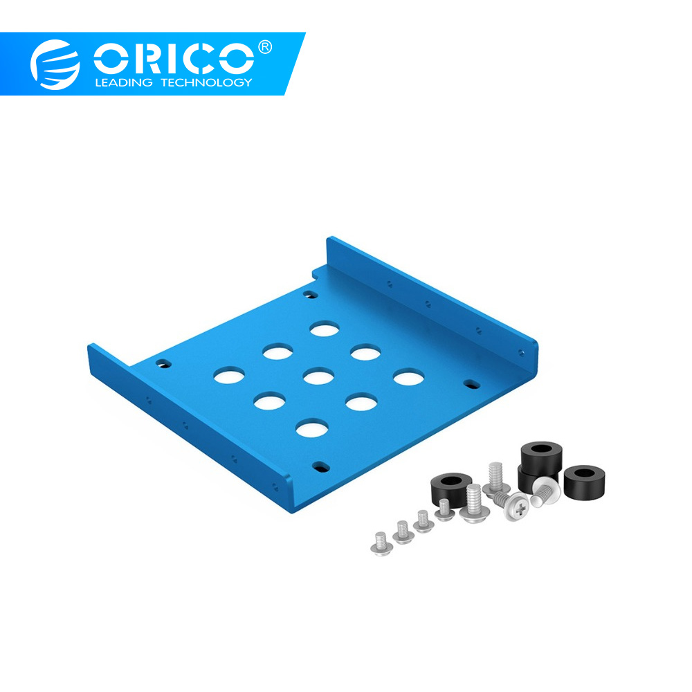 ORICO 2.5 Inch Hard Disk Bracket Mounting Hard Drive Holder SSD Solid State Aluminum Hard Drive Cage For PC Hard Drive Enclosure