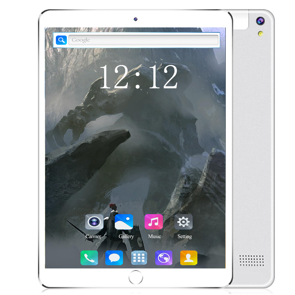 2020 Glass Screen Android Tablet 10 Inch Android 8.0 8 Core 6GB RAM 128GB ROM 3G 4G LTE 1280*800 IPS 5.0MP SIM Card The Tablet