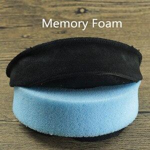 Image 3 - Coussinets doreilles ronds en peau de mouton 70MM 75MM 80MM 85MM 90MM 95MM 100MM 105MM 110MM pour audio technica pour DENON pour casque Fostex