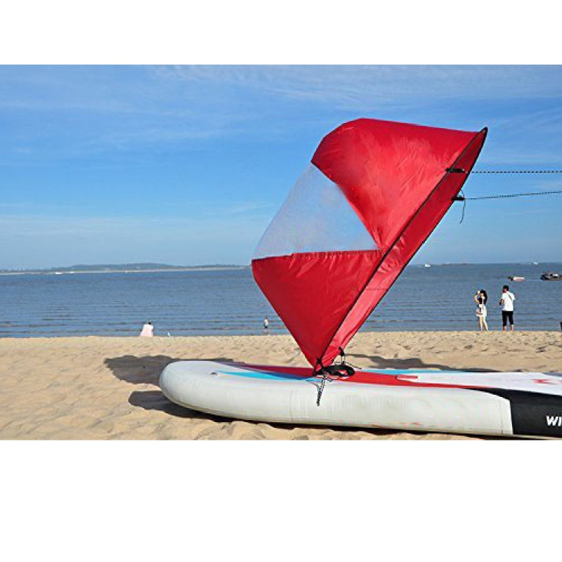 SHIPPING USA 108*108cm Foldable Kayak Wind Sail Boat Wind Sail Paddle Board Sailing Canoe Stroke Rowing Boats Wind Clear H3 Hs