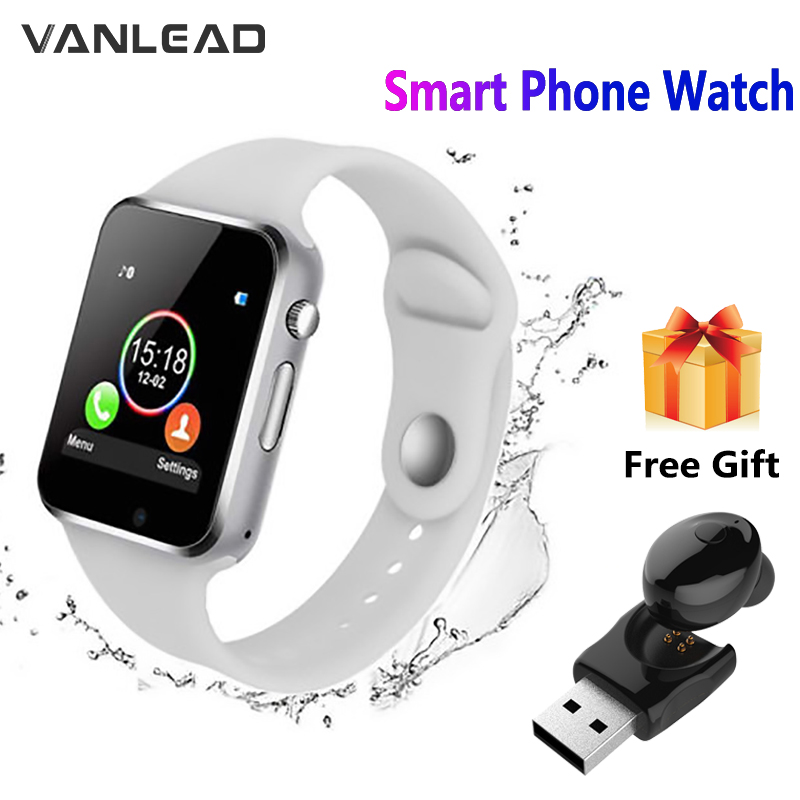 Bluetooth Watch Sports-Camera Communication Waterproof Android Pedometer A1 for 7-Color