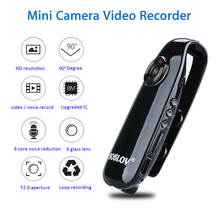 BOBLOV 007 HD 1080P มินิกล้องขนาดเล็กกล้องวิดีโอ Body ตำรวจปากกากล้อง Mini DVR เครื่องบันทึกวิดีโอสำหรับการสอนจักรยาน