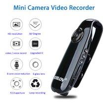 Boblov 007 HD 1080P Mini Nhỏ Máy Ảnh Máy Quay Cơ Thể Cảnh Sát Bút Camera Mini Đầu Ghi Hình An Ninh Đầu Ghi Hình Cho Giảng Dạy xe Đạp