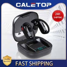 Caletopกีฬาชุดหูฟังไร้สายหูฟังหูฟังIPX5 กันน้ำหูฟังไมโครโฟนสำหรับIphoneสำหรับXiaomi
