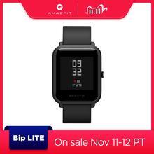 Глобальная Версия смарт спортивные часы Amazfit Bip Lite, 45 дней работы от батареи, 3 АТМ, водонепроницаемые Смарт часы, управление музыкой, многоязычные