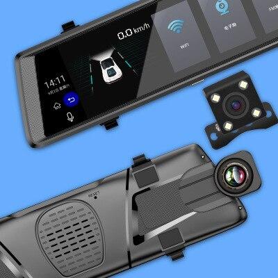 Dash Cam V6 Android 5.0 Auto dvr FHD 1080P 3G Spiegel Dashcam GPS Auto DVR 10 Auto Dvrs rück Auto Kamera Fahren Recorder Video
