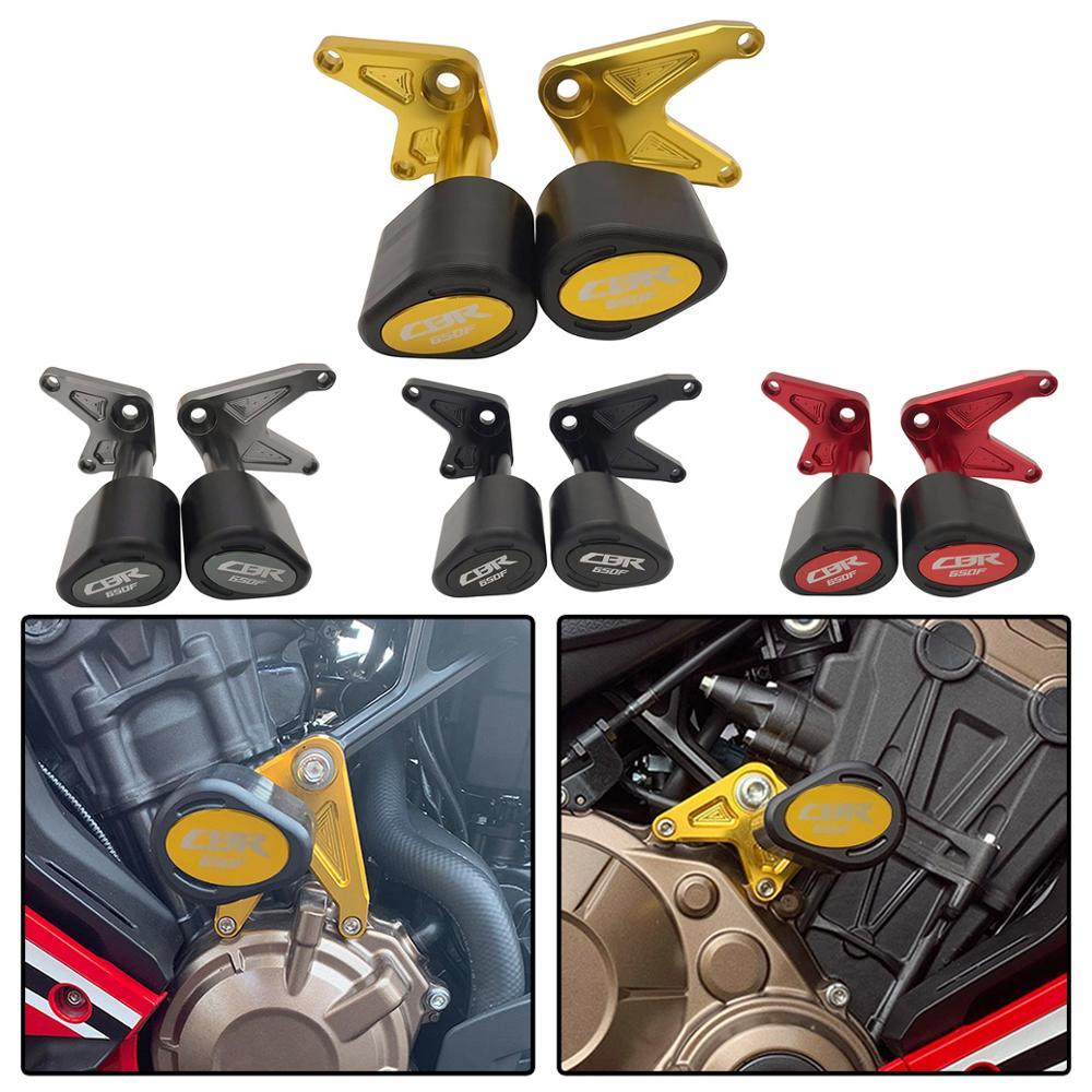 Nouvelle moto CNC CBR650F Protection contre les chutes Crash protecteur cadre curseur pour Honda CBR 650 F CBR 650F 2014-2019 2016 2017 2018