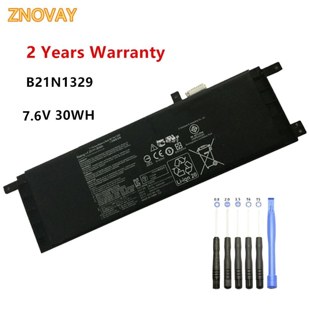 New B21N1329 Laptop Battery Fit For ASUS D553M F453 F453MA F553M P553 P553MA X453 X453MA X553 X553M X553B X553MA 7.6V 30WH