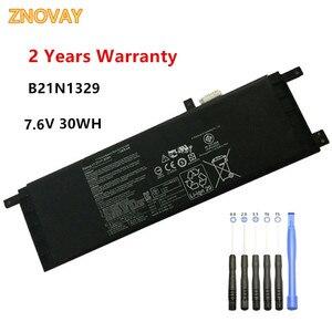 New B21N1329 Laptop Battery Fit for ASUS D553M F453 F453MA F553M P553 P553MA X453 X453MA X553 X553M X553B X553MA 7.6V 30WH(China)