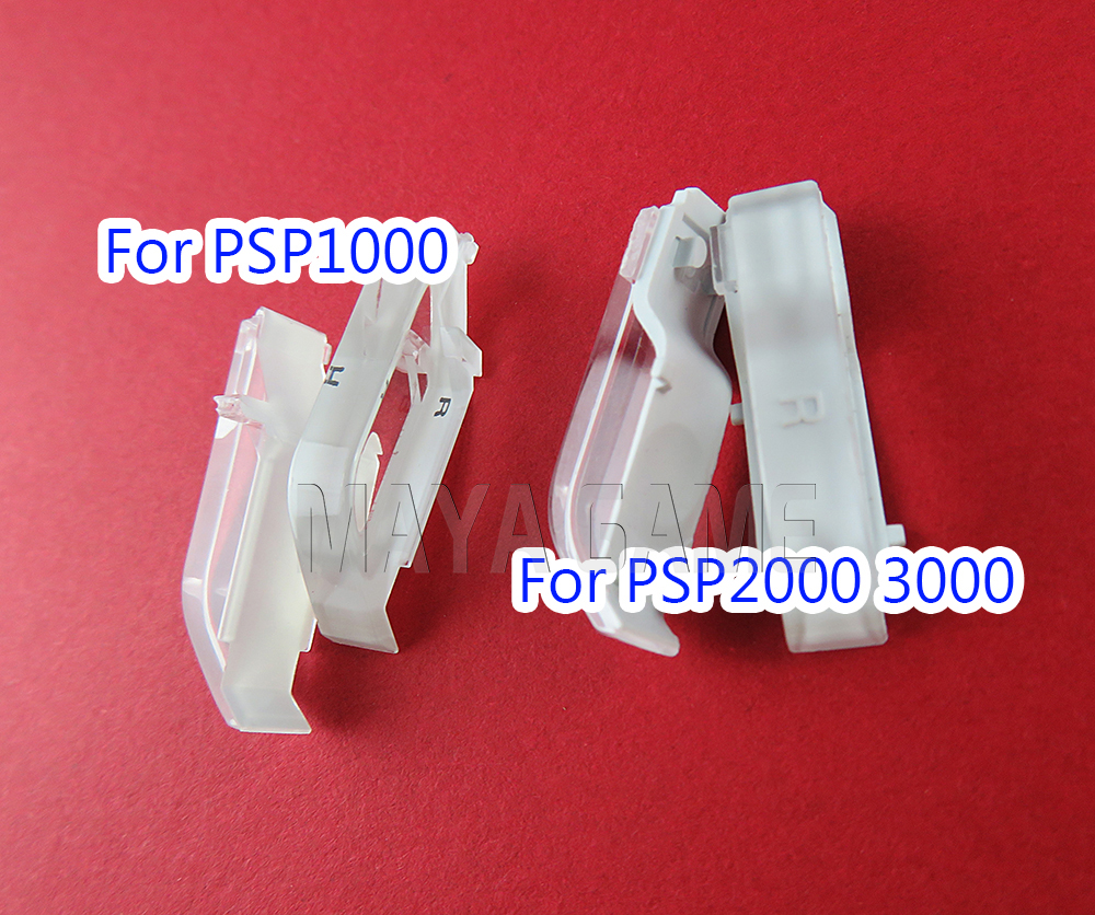 1set Original LR Button Key For Sony PSP 3000 2000 1000 LR Trigger Buttons Clear Button For PSP1000 PSP2000 PSP3000  LR Button