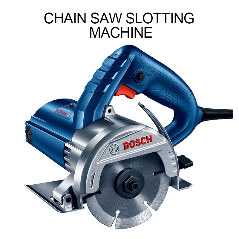Tile stone cutting machine home multi-function electric tool marble machine toothless chainsaw slotting machine