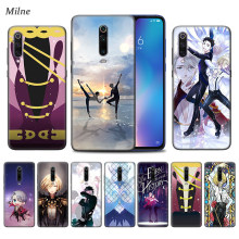 Yuri On Ice Anime Case untuk Xiaomi Redmi Note 9S 7 8 8T K30 K20 8A 7A 10X 5G Mi 9T 10 9 Pro A3 Hitam TPU Phone Coque Casos(China)