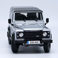 1:18 Guardian 90 Commemorative SUV Model Alloy Off road Vehicle Diecast Metal Vehicle Toy Boys Decoraiton Children Kid Souvenirs