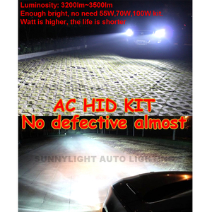 Image 2 - CNSUNNYLIGHT Super Slim High Quality Canbus 35W HID Xenon Kit H1 H3 H7 H8 H10 H11 9005 9006 880 Car Error Warning Free with EMC