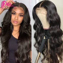 Beauty Forever Body Wave Lace Front Wig Wavy Lace Front Human Hair Wigs Cheap T Part Brazilian Wigs Pre-Plucked With Baby Hair