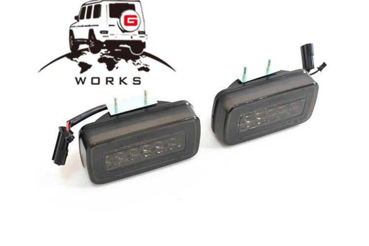 rear bumper LED W463 (9)