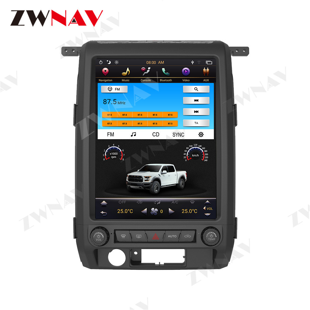 Android 9.0 Car Multimedia System For Ford F-150 F150 SVT Raptor 2009-2014 Radio Stereo GPS Navigation Media Music Player