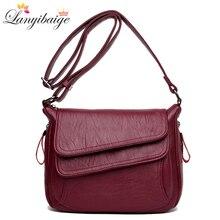 Winter hot selling women handbags soft leather luxury bags designer crossbody for 2019 shoulder bag