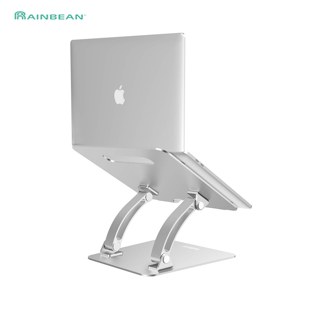Aluminum Laptop Stand Height/Anlge Adjustable Multifunction Tablets Book Notebook Cooling Holder For MacBook Air Pro 11-17 Inch