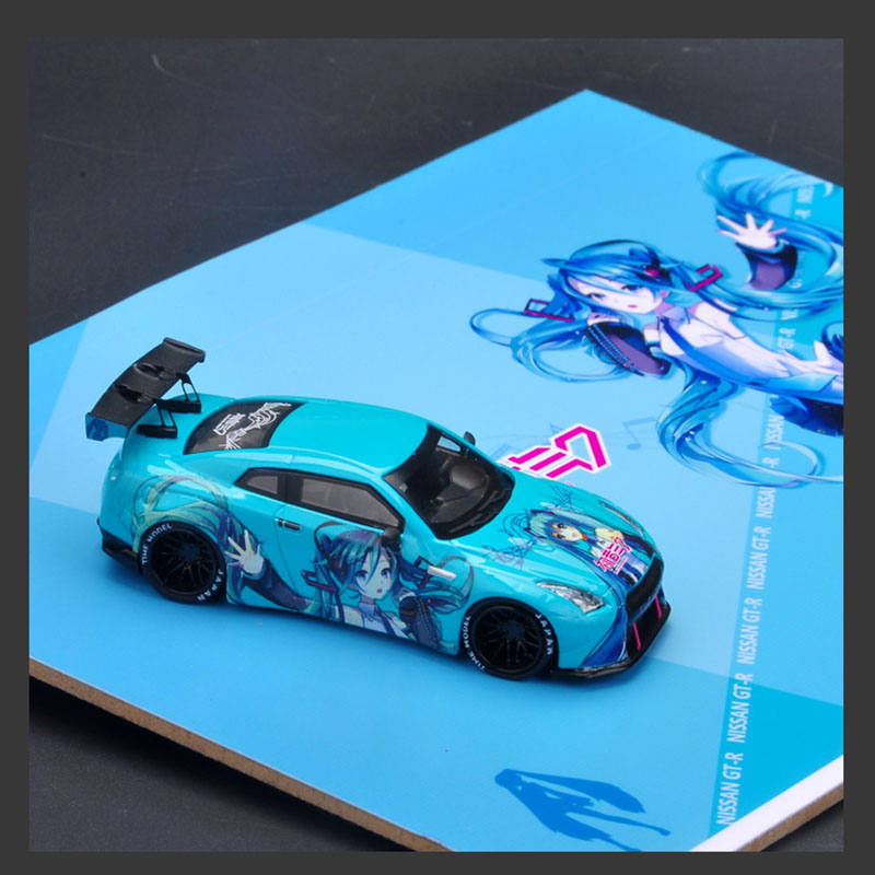 1/64 Scale Boutique Sports Car Car Model Alloy Die-cast Simulation MA Static Car Toy Children Gift Collection Display