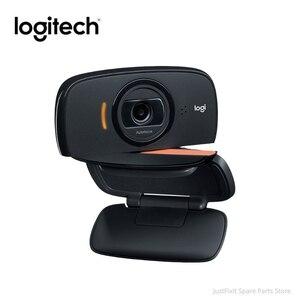 Оригинальная веб-камера Logitech C525 HD 720P Портативная 360 Вращающаяся 8MP видео Автофокус USB2.0 веб-камера для звонков
