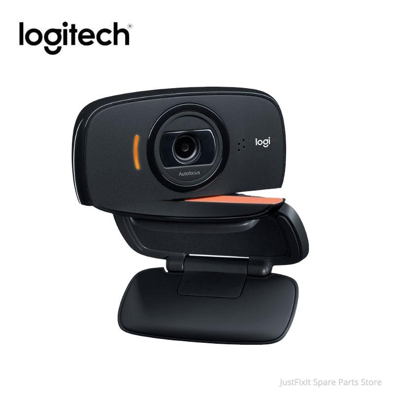Original Logitech C525 HD Webcam 720P Portable 360 Rotating 8MP Video Auto Focus USB2.0 Webcam Calling Camera