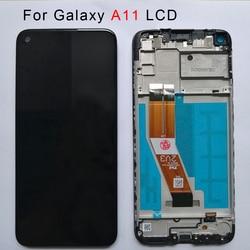 Оригинальный Для samsung A11 Lcd с рамкой для Samsung Galaxy A11 LCD дисплей сенсорный экран в сборе для Samsung A115F A115F/DS Lcd