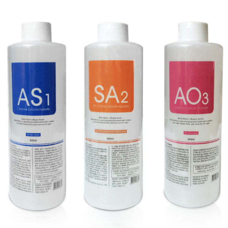 Serum Aqua Peeling Solution Skin Clear Essence Product Hydra Facial Serum For Hydrafacial Machine Skin Deep Cleaning 400ml