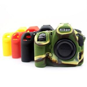 Image 1 - Silicon Armor Case DSLR Camera Body Cover Protector Bag For Nikon D7500 D810 D5500 D5600 D5300 D750 D850 D3400 D7200 Camera Bag