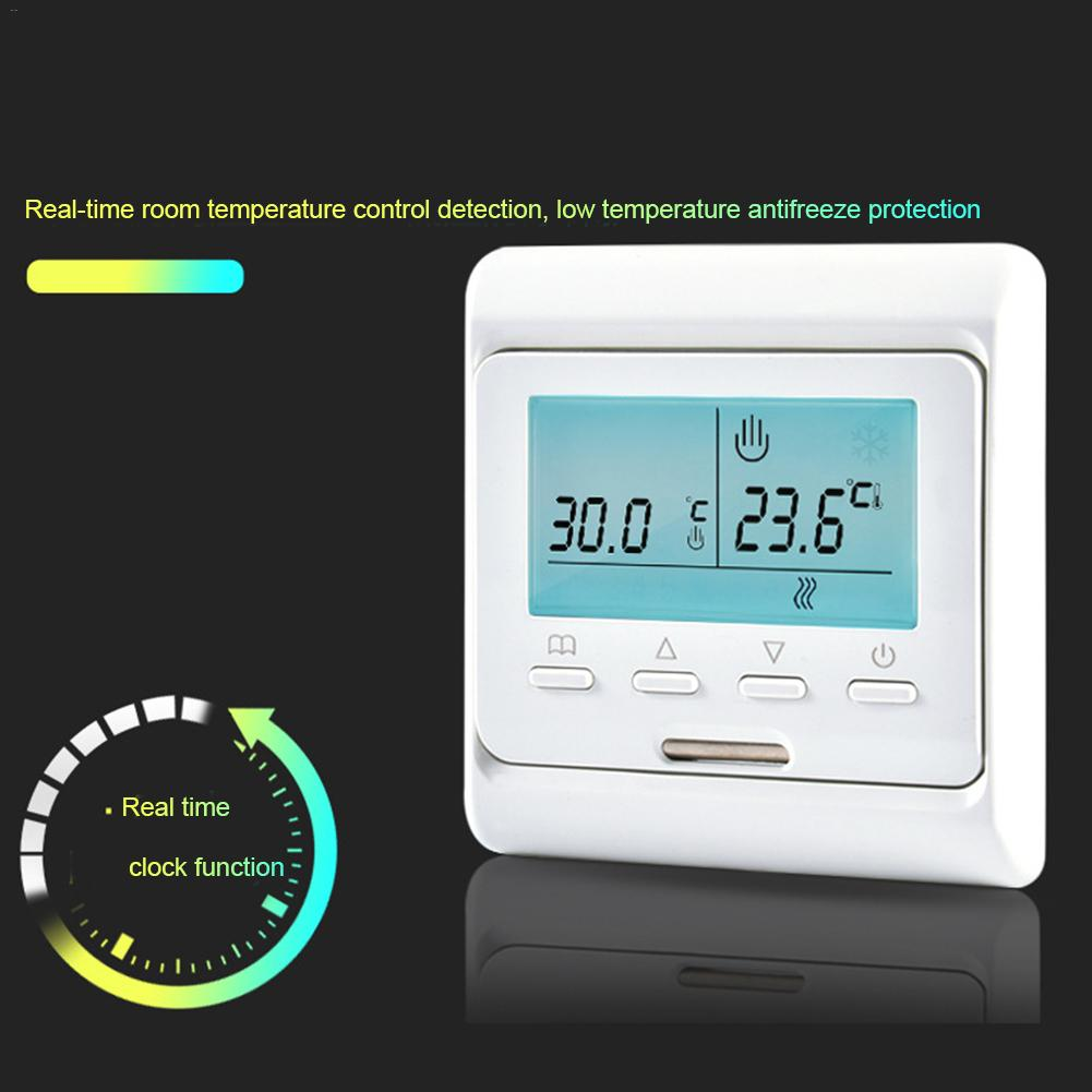 Smart Thermostat Programmable Electric Digital Floor Heating Temperature Controller
