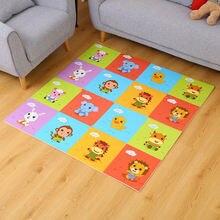 Детский игровой коврик с мультипликационным принтом развивающий