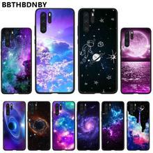 Starry Sky Space Moons Volcano black Phone Case Hull For Huawei P9 P10 P20 P30 Pro Lite smart Mate 10 Lite 20 Y5 Y6 Y7 2018 2019 starry sky space moons volcano soft black phone case for huawei p9 p10 p20 p30 pro lite smart mate 10 lite 20 y5 y6 y7 2018 2019
