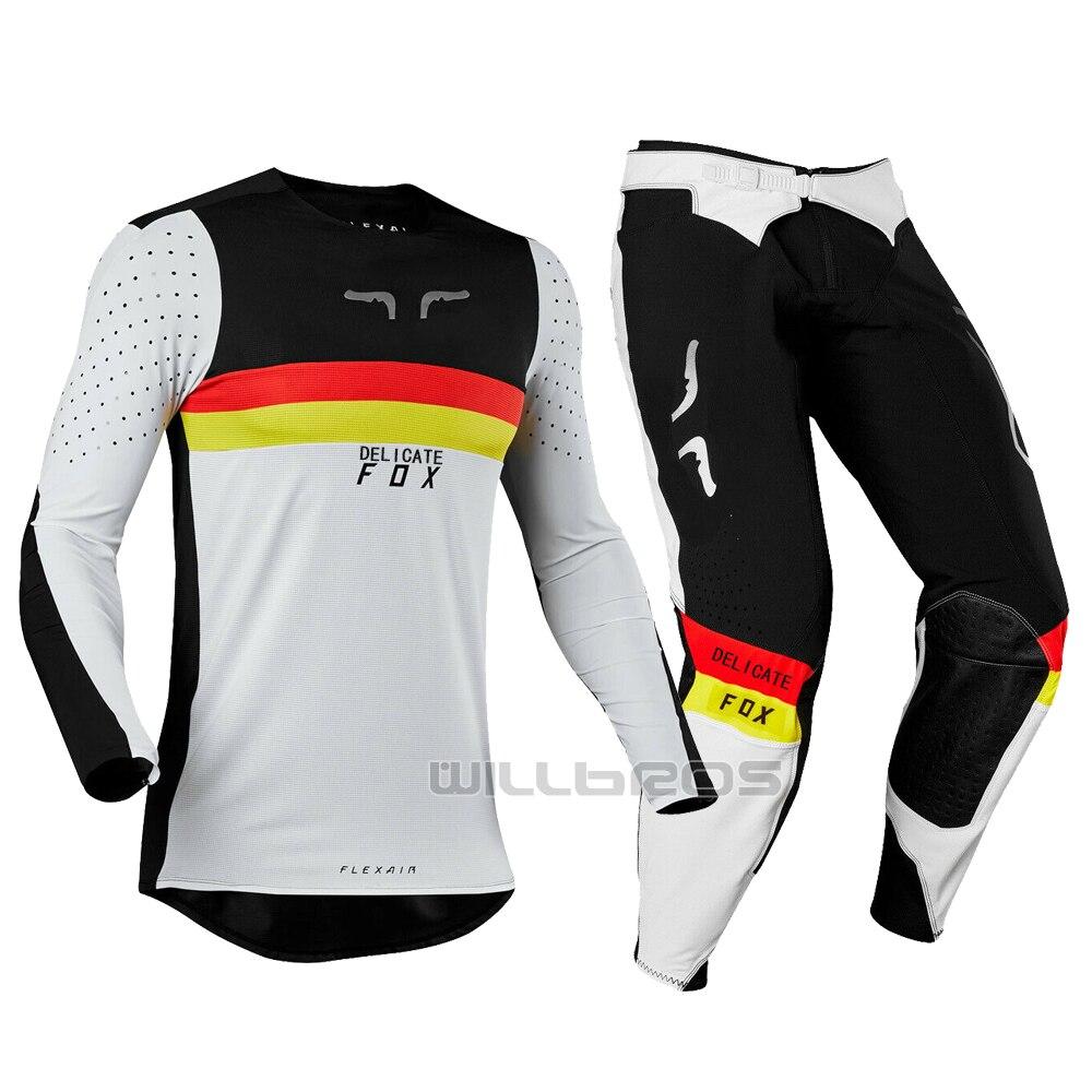 2019 vilain FOX MX 360 Racing LE Flexair Regl MXON Motocross Dirt bike Jersey pantalon hors route ensemble de vêtements pour hommes