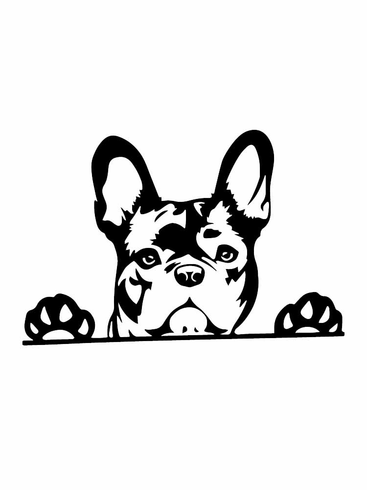 S French Bulldog PARENT - Vinyl Decal Sticker // Color Choice HIGH QUALITY