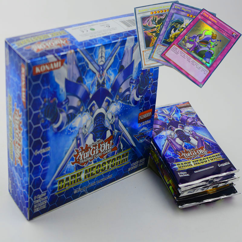 Hot  45/90 Pcs Game YGO YuGiOh Playing Card Cartoon Cards Yugioh Gaming Card Japan Boy Girls Yu-Gi-Oh Cards Collection Toys Gift