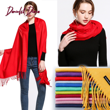 classic spring/winter scarves for women Soft warm shawls and wraps fashion solid female hijab stoles pashmina cashmere foulard 2019 women spring autumn scarf fashion balinese cotton linen scarves shawls and wraps lady foulard flower hijab stoles wholesale