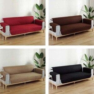 Image 3 - Sofa Cover Meubels Protector Couch Case Waterdicht Sofa Cover Voorkomen Huisdieren Kids Katten Honden Scratch 1/2/3 /4 zits Hoes