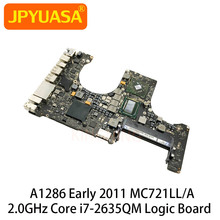 Original Motherboard 820-2915-B For Macbook Pro 15\
