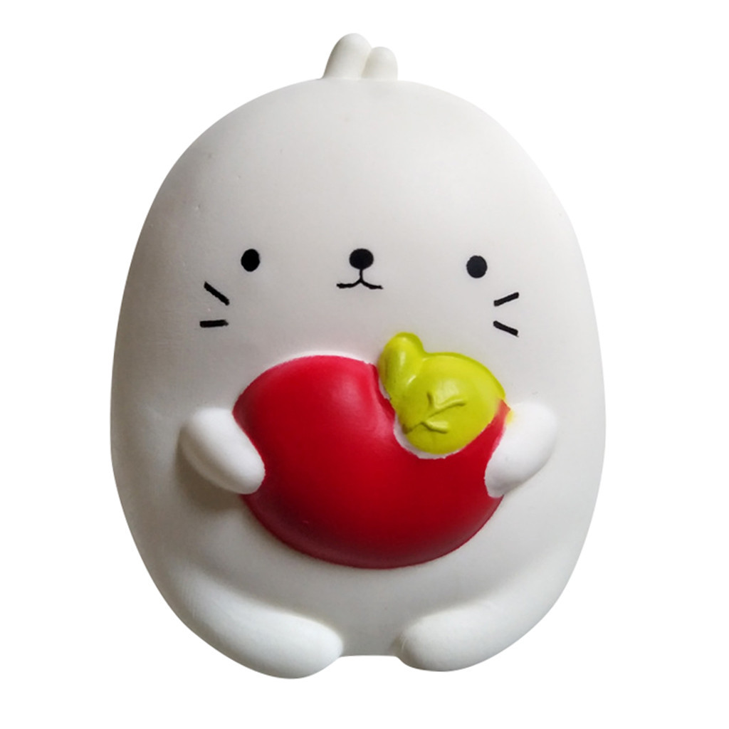 Fun Rabbit Decor Slow Rising Kid Toy Squeeze Relieve Toys Gift Cartoon Decoration Doll Stretchy Healing Toys Girl Toys Gifts #B