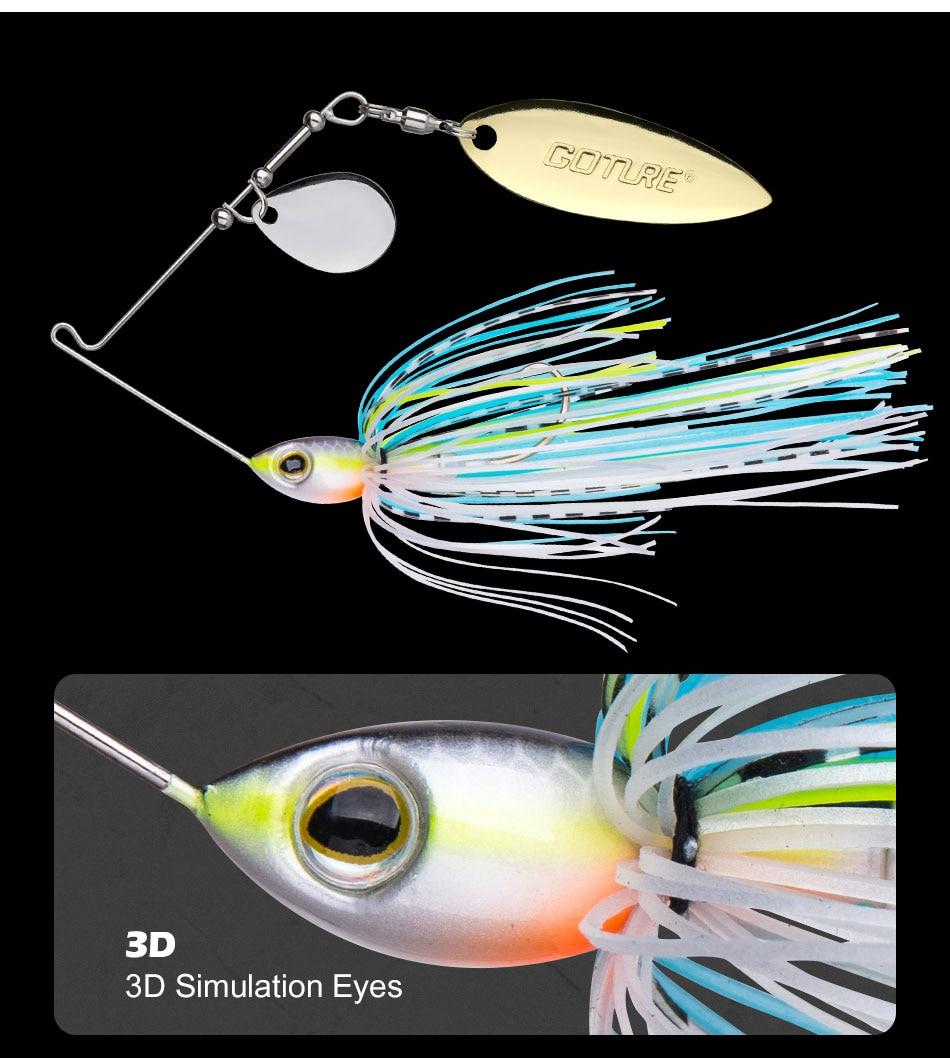 spinnerbait bait 10g 15g artificial bait jigging lure (4)