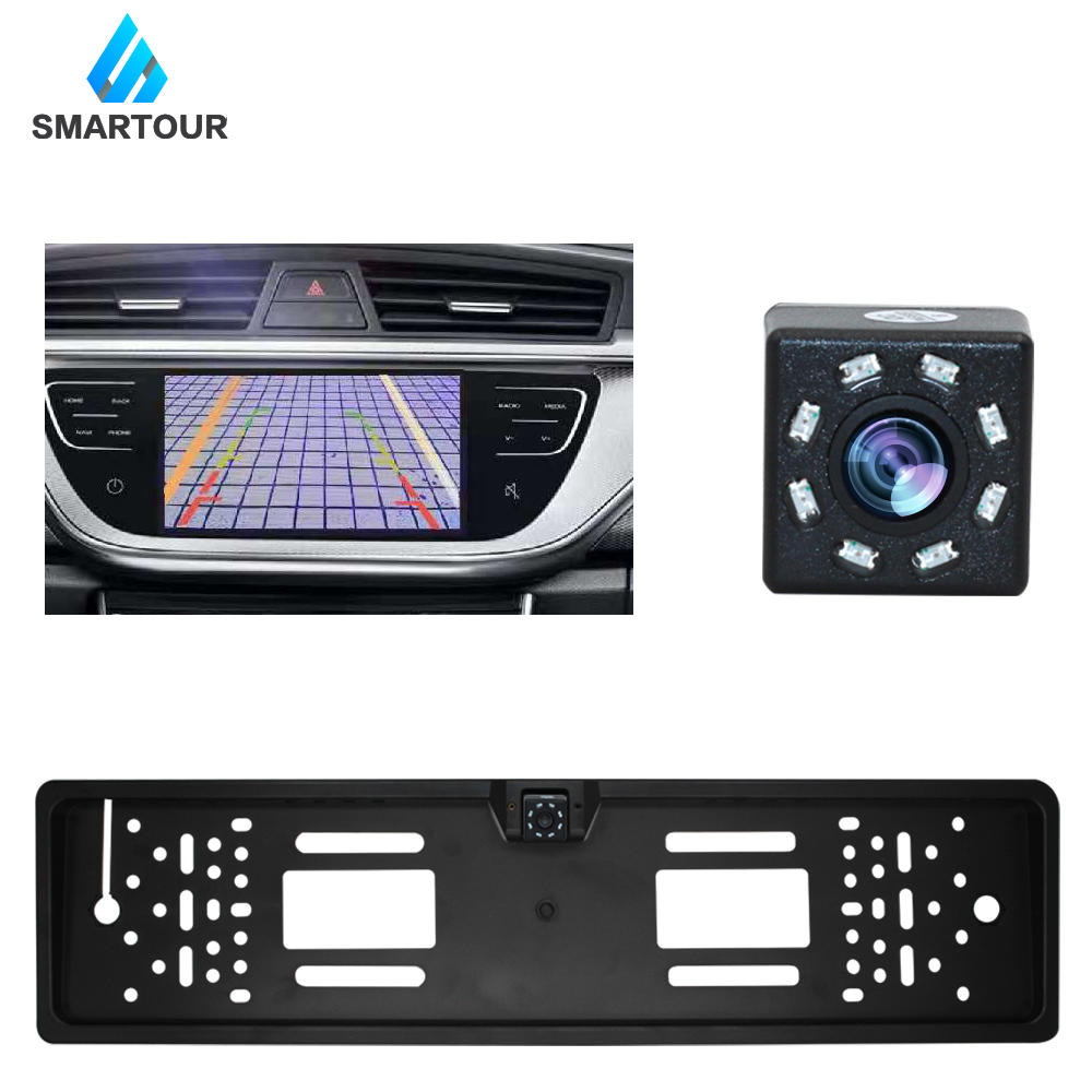 cheapest Car 170 Degree Rear View Reversing Backup Camera Brake Light Night Vision for Fiat Ducato Car Waterproof High Quality