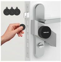 Smart Door Lock Home Keyless Lock 4 key with Sherlock S2 Lock Smart Wireless App Phone Control for home
