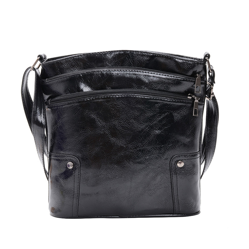 Luxury Ladies Shoulder Bag Large Capacity Leather Cross-body Bag Young Female Designer Office Bags High Quality Women Bags Soft