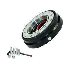 Universal Racing auto Steel Steering Wheel quick release Hub slim version 6 hole adapter Snap Off Boss kit