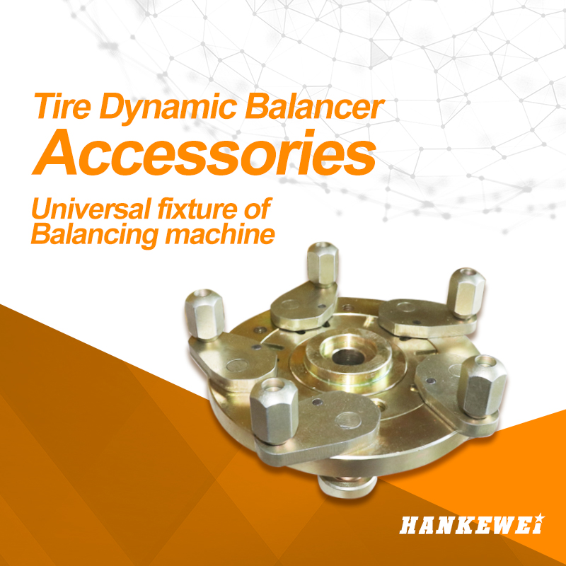Universal fixture of dynamic tyre balancer wheel weight alignment machine accessories Balancer flange tool