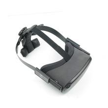 מתכוונן VR ראש רצועת עבור צוהר Quest VR אוזניות אביזרי מלחץ להקלה החלקה סרט תיקון הגנת רצועה